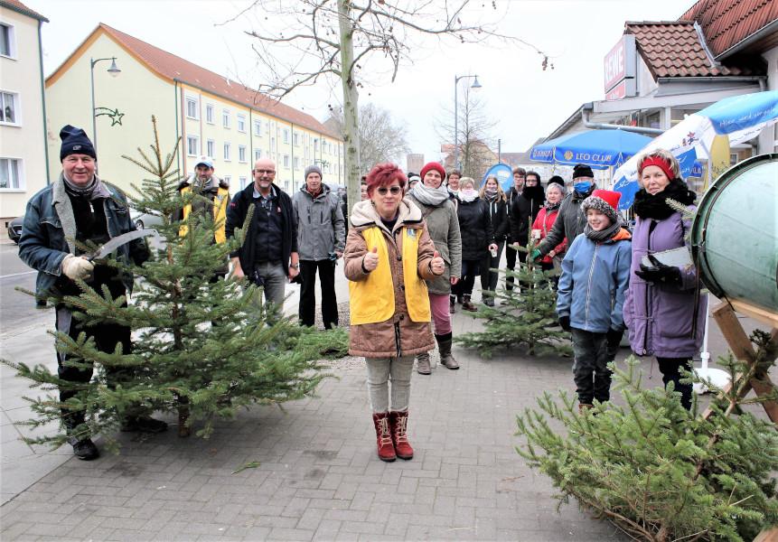 Weihnachtsbaumverkauf